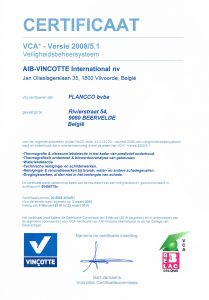 Thermodetect is VCA-gecertificeerd