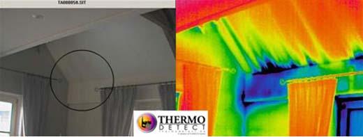 luchtlekken opsporen met warmtecamera