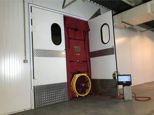 Luchtdichtheidstesten op installaties