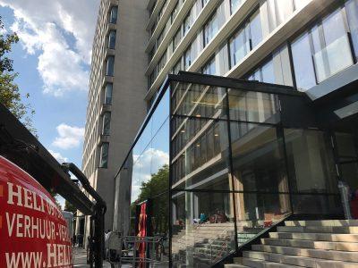 Luchtdichtheid van groot gebouw